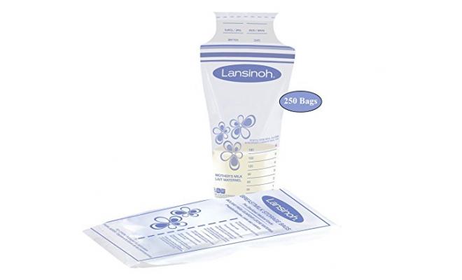 美國Lansinoh 母乳儲存袋 50個裝