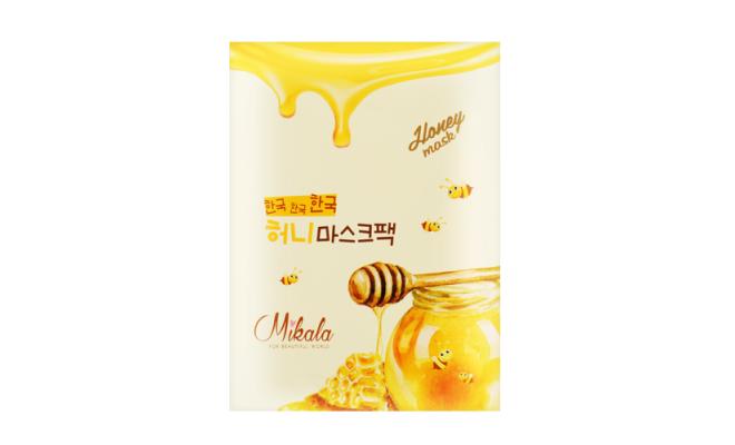 Mikala純天然蜂蜜面膜 美白保濕 祛皺抗敏 2盒 (共20片)