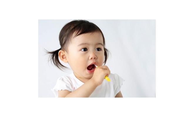 Pigeon 第三階段訓練 極細軟幼兒乳齒牙刷 (2支)(綠+黃)