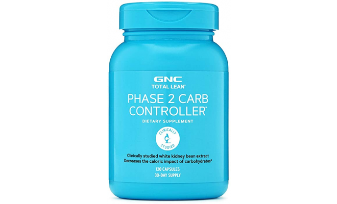 GNC Total Lean Phase 2 Carb Controller 120粒 (Exp:2022/5)
