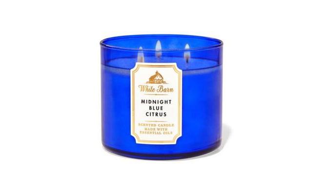Bath & Body Works MIDNIGHT BLUE CITRUS 柑橘,甜芒果精油