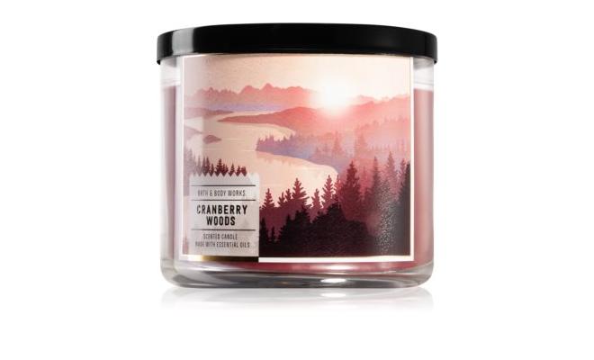 Bath & Body Works Cranberry Woods - 肉桂,雪松,琥珀,蔓越莓