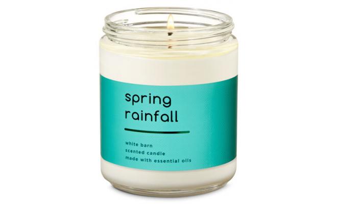 Bath & Body Works單芯 Spring Rainfall - 蜜瓜,麝香,奶油椰子精油