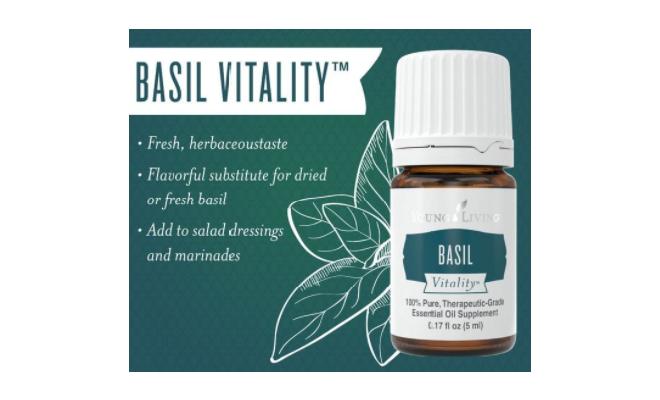 Basil Vitality™羅勒精油調味料