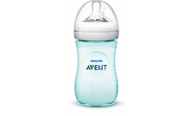 Philips Avent Natural PP 奶瓶 260毫升(9安士) 柔和色