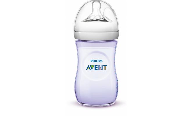 Philips Avent Natural PP 奶瓶 260毫升(9安士) 粉彩色