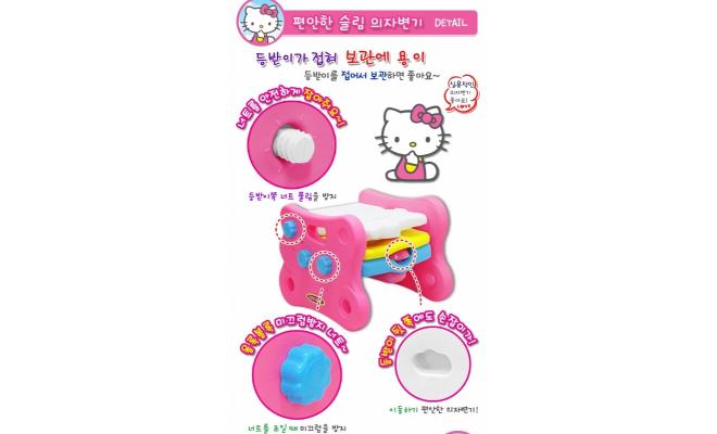 韓國 Kumbo 2合1 Hello Kitty 兒童訓練便器及兒童椅