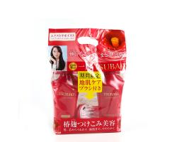 日本TSUBAKI絲蓓綺紅椿按摩梳洗髮水護髮素2015限定三件套裝 500ml+500ml