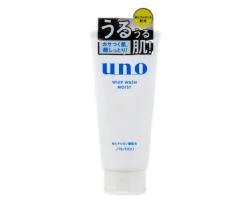 日本資生堂UNO吾諾男士洗面乳130g 白色保濕款