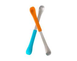 美國Boon  多功能軟硬兩頭勺(多色)