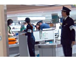 日本出口貨物嚴查。