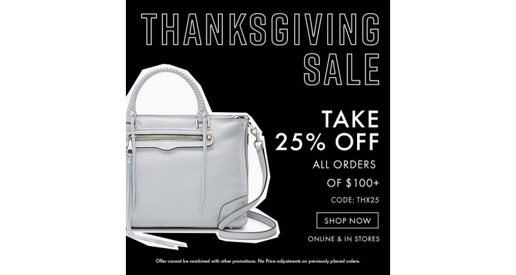 Rebecca Minkoff  Black Friday