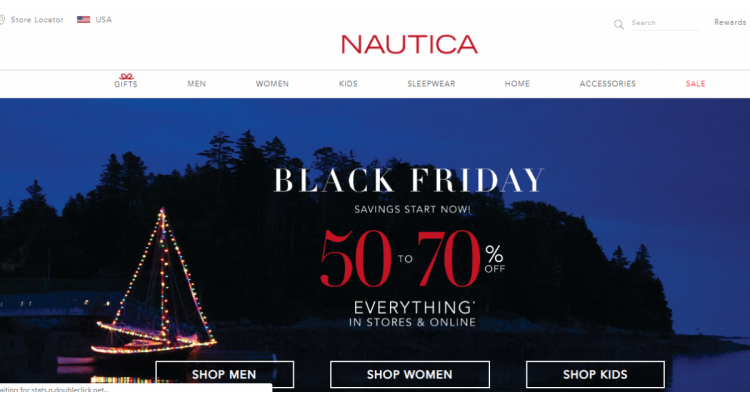 Nautica Black Friday Sale!