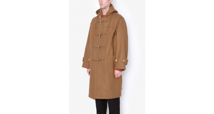 HARD MELTON DUFFLE COAT