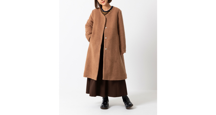 MILKFED. HOODED COAT