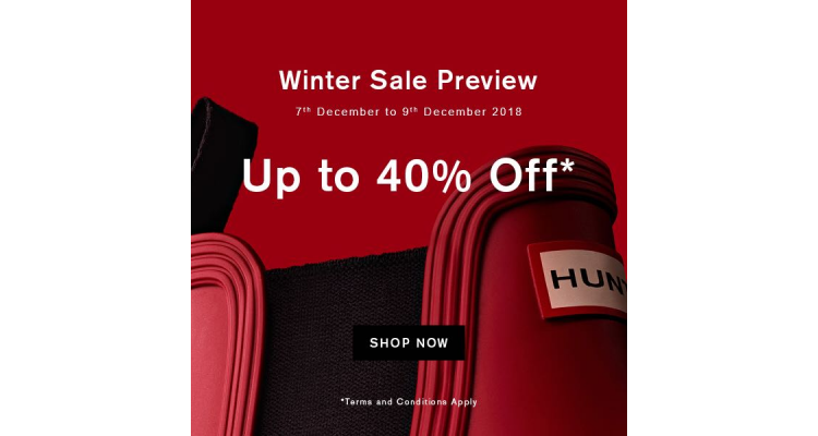 Hunter private sale