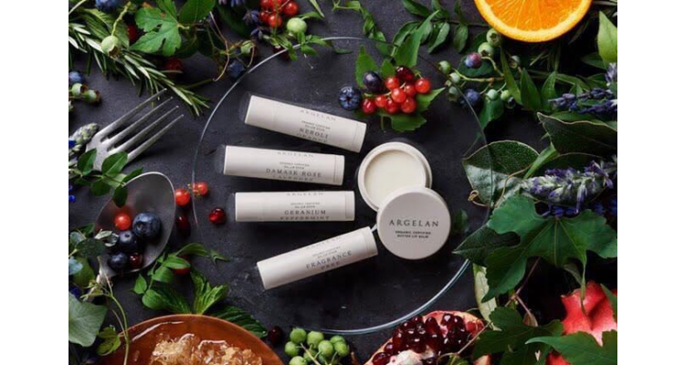 天然有機品牌 ARGELAN 有機護唇膏