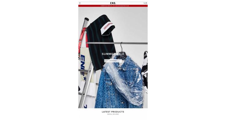 Endclothing Summer Sale 低至 4折