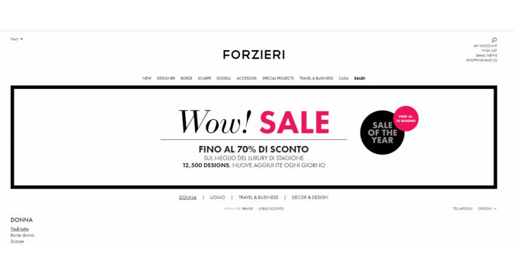 Forzieri Final Sale