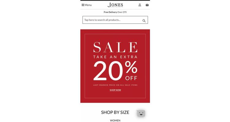 Jones bootmaker 減價特選再八折