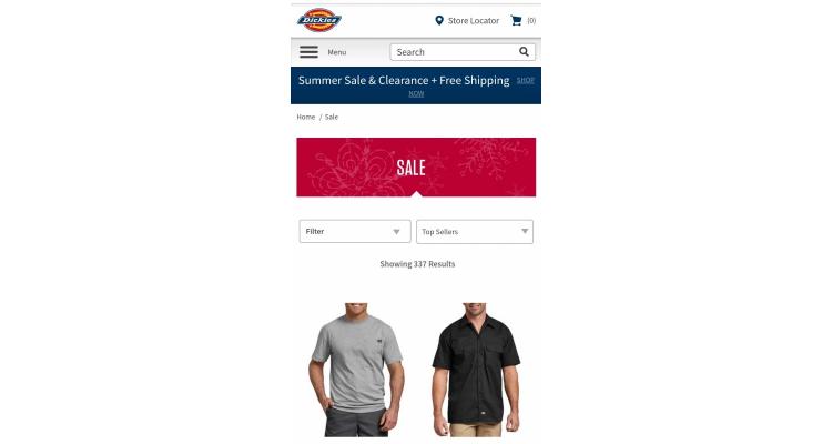 美國 Dickies Summer final sale