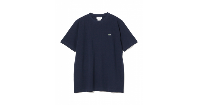 LACOSTE / 鹿の子クルーネックTシャツ