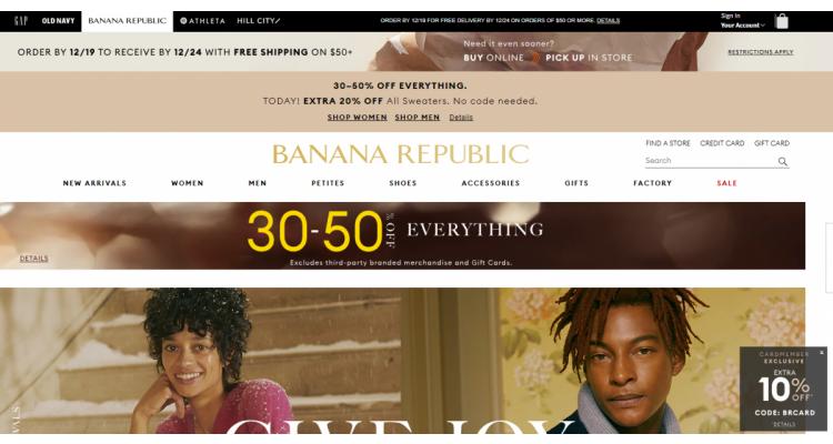 Banana republic factory  Sale