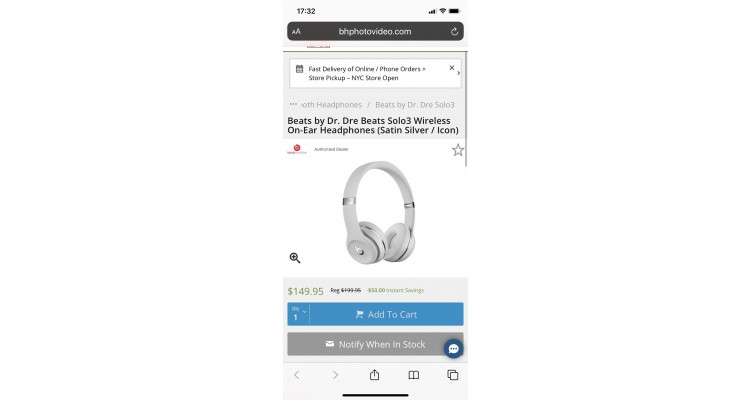 Beats Solo 3 無線藍牙耳機特價