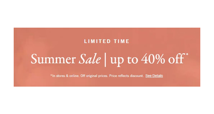 A&F up to 40%off sales