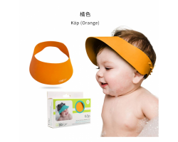 加拿大 BBLUV 矽膠幼兒浴帽 橙色