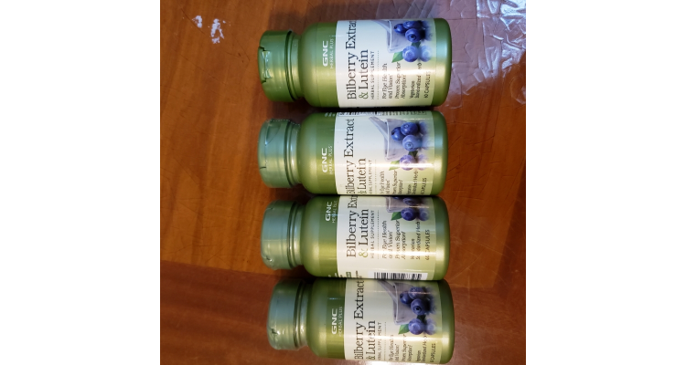GNC Bilberry Extract and Lutein