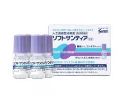 Santia  人工淚液眼藥水- 5毫升 x 4 (Exp:2021/12)