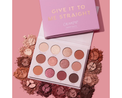 Colourpop Give it to me straight 12色眼影盤