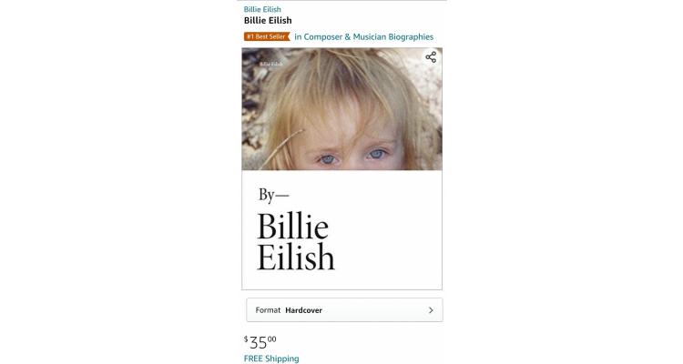 Billie eilish 自傳