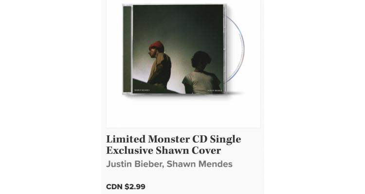 """Monster""單曲唱片"