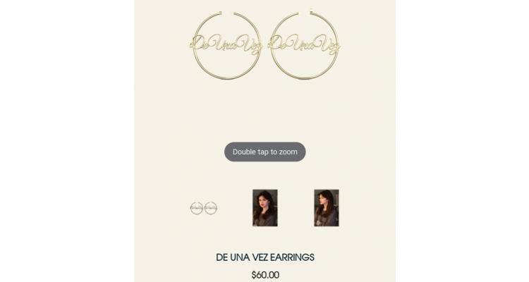 Selena Gomez 耳環
