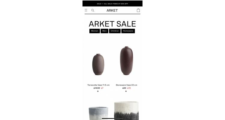 Arket特價