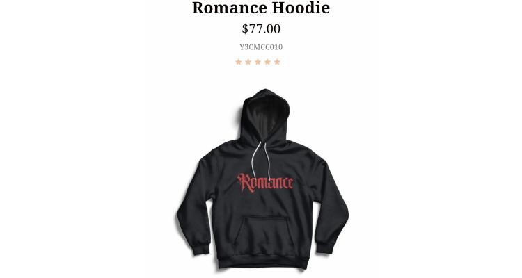 Romance 衛衣