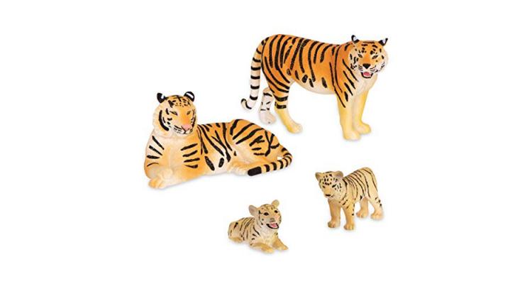 Toy Tiger Safari Animals