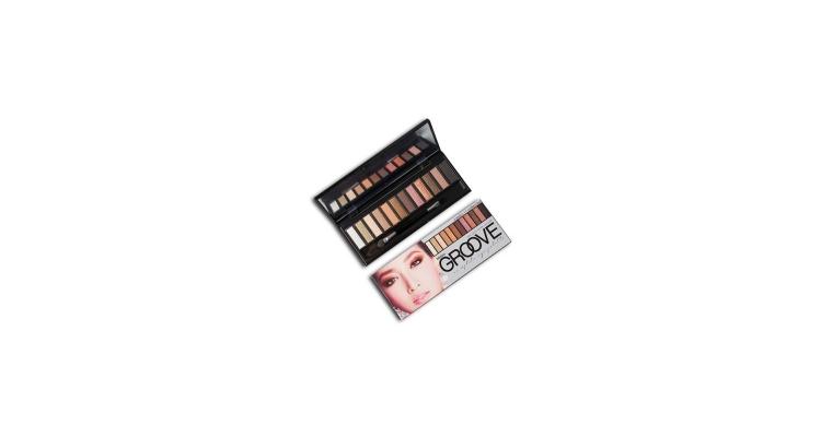 Mistine 12-color eyeshadow palet