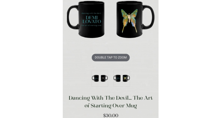 demi Lovato陶瓷變色杯