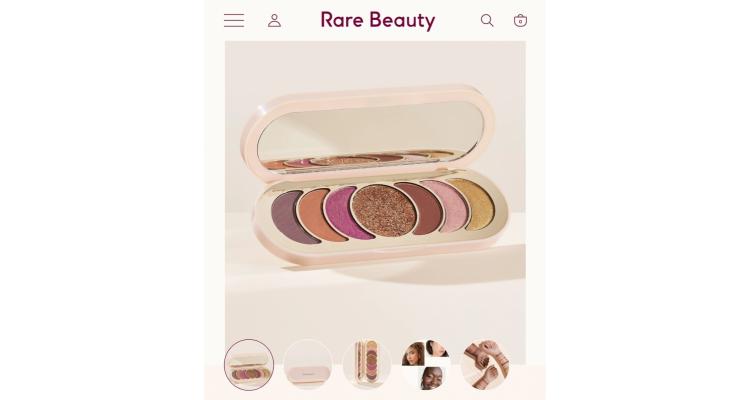Rare Beauty新款眼影盤