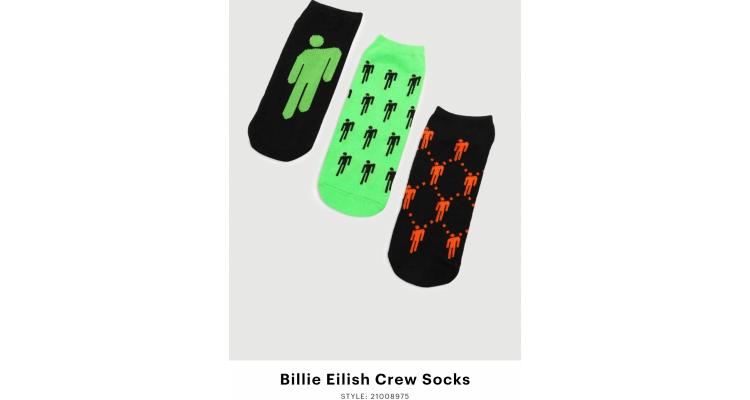 Billie Eilish 船襪