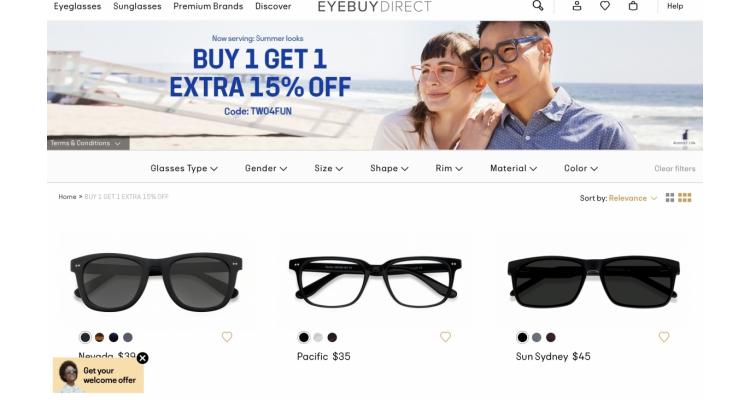 眼鏡框買一送一