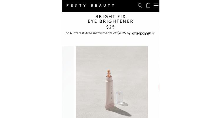 fenty beauty最新款眼部提亮