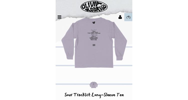 Olivia Rodrigo SOUR T恤