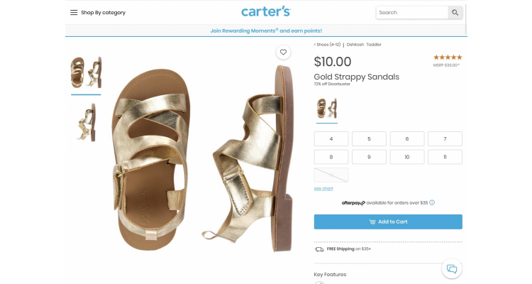 Girl Sandals 72% off