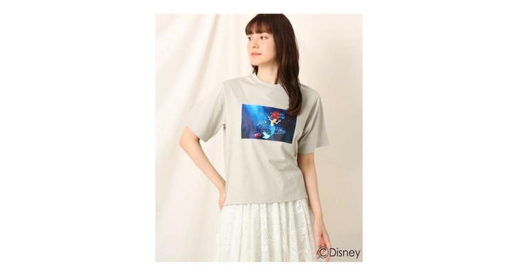 小魚仙印花T恤
