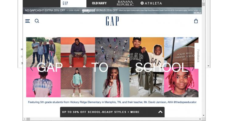 Gap 童裝童鞋全場特賣,全場低至5折+額外8折